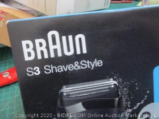 Braun shave & style