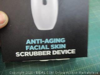 Anti-Aging Facial Skin Scrubber device