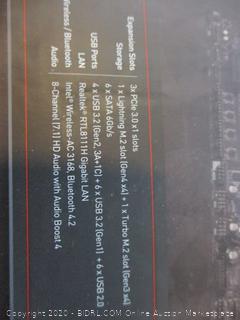 MSI AMD Motherboard