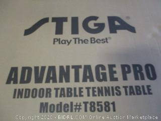 Stiga Advantage Pro Indoor Table Tennis Table