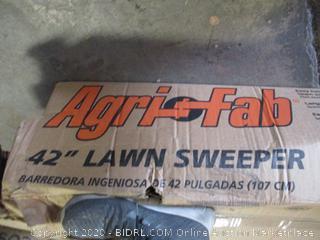 "Agri-Fab 42"" Lawn Sweeper ($230 Retail)"