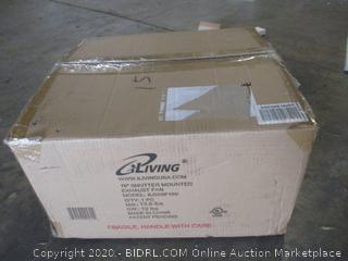 "CiLiving 16"" Shutter Mounted Exhaust Fan"