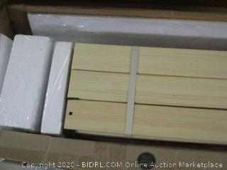 "Zinus 12"" Wood Platform Bed (See Pictures)"