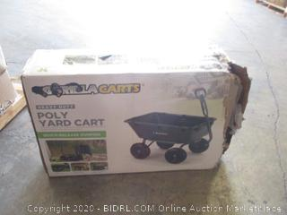 Gorilla Carts Poly Yard Cart (See Pictures)
