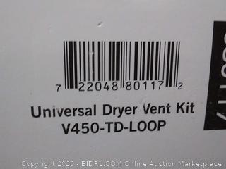 Builder's Best Indoor Hook-Up Dryer Vent Kit (online $29)