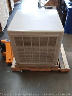 ESSICK AIR Evaporative Cooler,4300 to 4800 cfm, N43/48D, Cool(Small dent in corner)(New in packaging)