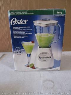 Oster 14 Speed Osterizer Blender (Powers On)