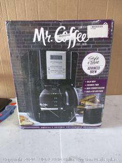Mr Coffee 12 Cup Coffee Maker (Powers On)