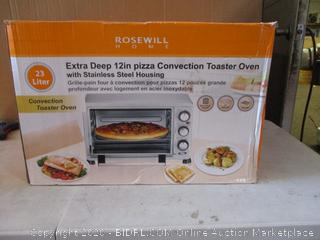 Rosewill Convection Toaster Oven (Powers On)