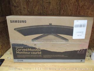 "Samsung 27"" Essential Curved Monitor (Damaged)"