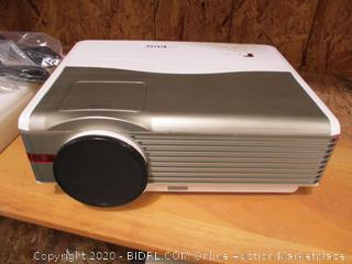 EUG X99 Multimedia Video Projector 1080p HD LED Home Theater