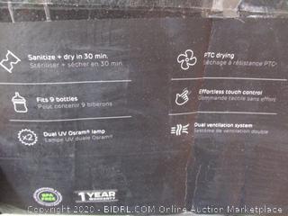 Wabi Baby Touch Panel Dual Function UV Sterilizer & Dryer ($279 Retail)