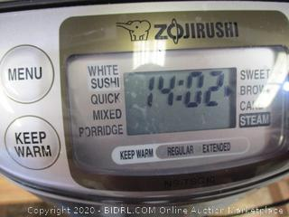 Zojirushi NL-BAC05 3-Cup (Uncooked) Micom Rice Cooker and Warmer
