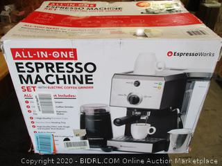 EspressoWorks All-In-One Espresso Machine ($219 Retail)