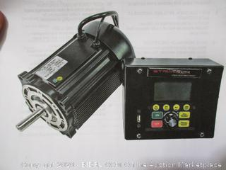 Striatech 750W/1Hp 115V Switched Reluctance Smart Motor & Controller, Model: 53018 ($699 Retail)