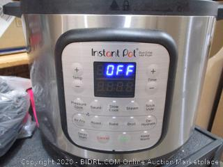 Instant Pot Air Fryer + EPC Combo 8QT Electric Pressure Cooker (Dented,  See Pics,  Powers On, $179 Retail)