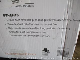 Human Touch Reflex Sol Foot And Calf Massager ($289 Retail)