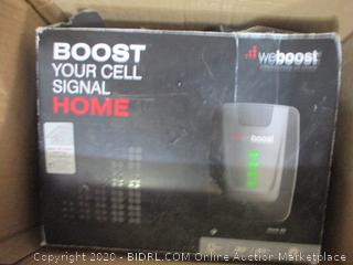 WeBoost Home 4G Indoor Cell Phone Signal Booster For Home And Office (Powers On, $381 Retail)