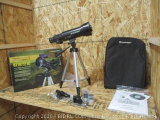 Celestron 21035 70mm Travel Scope & 93625 Universal 1.25-Inch Camera T-Adapter
