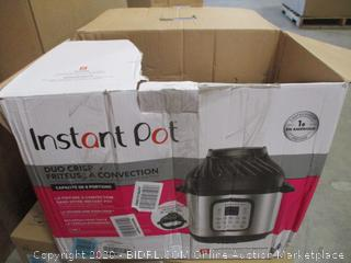 Instant Pot Duo Crisp + Air Fryer (Dented, $179 Retail)