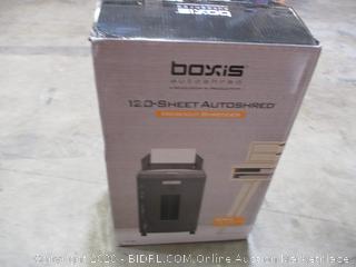 Boxis AutoShred 120-Sheet Auto Feed Microcut Paper Shredder ($279 Retail)