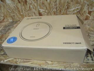 Ecovacs DEEBOT N79S Robotic Vacuum Cleaner (Powers On, $179 Retail)