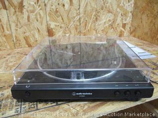 Audio-Technica Turntable AT-LP60XBT (Powers On, Damaged, See Pictures)