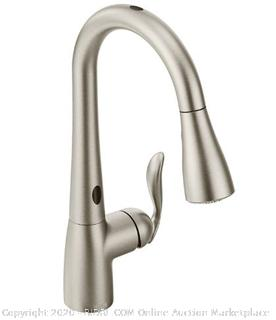 Moen 7594ESRS Arbor Motionsense Two-Sensor Touchless One-Handle Pulldown Kitchen Faucet Featuring Power Clean, Spot Resist Stainless ($405 Retail)