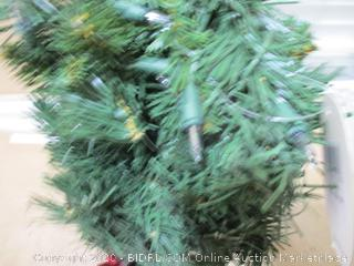 "National Tree Company - 24"" Pre-Lit Majestic Fir Tree"