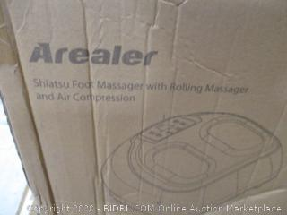 Arealer - Shiatsu Foor Massager with Rolling Massager and Air Compression