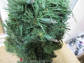 "National Tree Company - Pre-Lit Artificial Mini Christmas Tree, 24"""