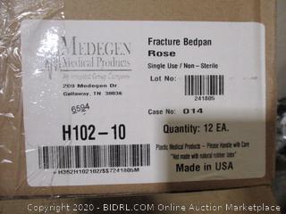 Medegen Medical Products - Fracture Bedpan, 12 Count
