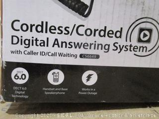 vTech - Cordless/Corded Digital Answering System