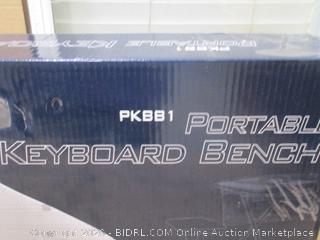 Portable Keyboard Bench