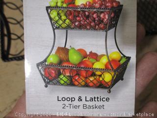 Mikasa - 2-Tier Fruit Basket
