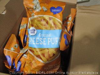Barbara's Gluten Free Cheese Puffs, Pack of 12