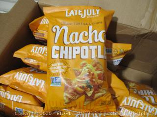 Late July Snacks - Classic Tortillas Chips, Pack of 12