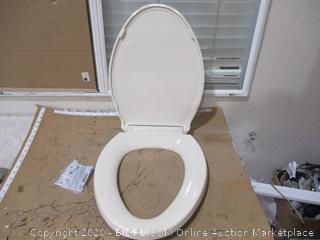"Kohler - Elongated Toilet Seat, 18 5/8"""