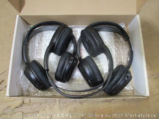 2 Channel Infrared Rear Headphones, Set of 2