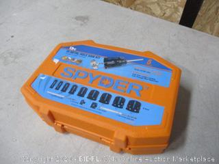 Spyder Hole Saw Kit