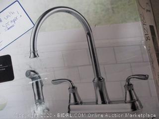 Delta Lorain Kitchen Faucet Set