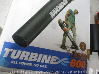 Worx Turbine 600 Electric Blower (See Pictures)