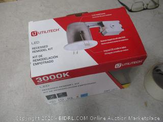 Utilitech Recessed Remodel Kit (See Pictures)