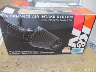 K&N - Cold Air Intake Kit ($313 Retail)
