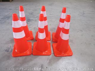 Safety Cones - Set of 6
