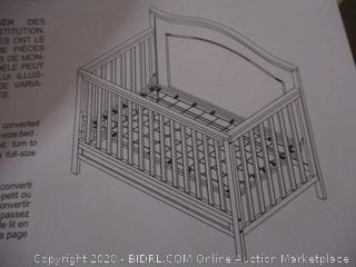 DaVinci - Charlie 4-in-1 Convertible Crib in White