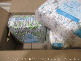 Honest - Gentle & Absorbent Diapers, Size 6 (88 Count)