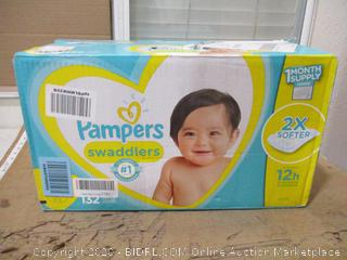 Pampers - Swaddlers, Size 5 (132 Count, Sealed Box)