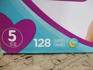 Pampers - Cruisers, Size 5 (128 Count, Sealed Bags)