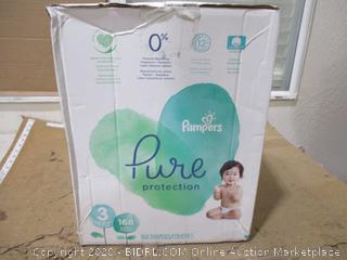 Pampers - Pure Protection Diapers, Size 3 (168 Count, Sealed Bags)